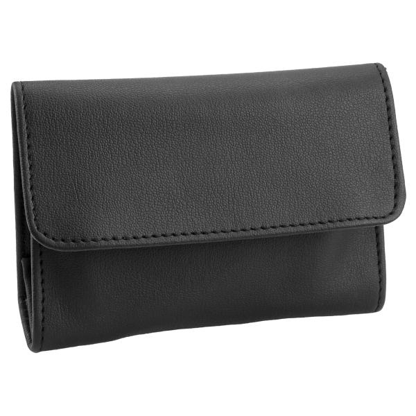 Castleford Roll-up Black Tobacco Pouch