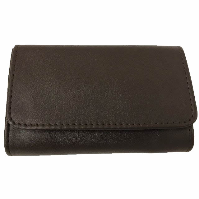 Castleford Roll-up Brown Tobacco Pouch