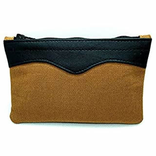 Castleford Zip-Up Canvas Tobacco Pouch