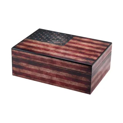 Quality Importers Old Glory Humidor
