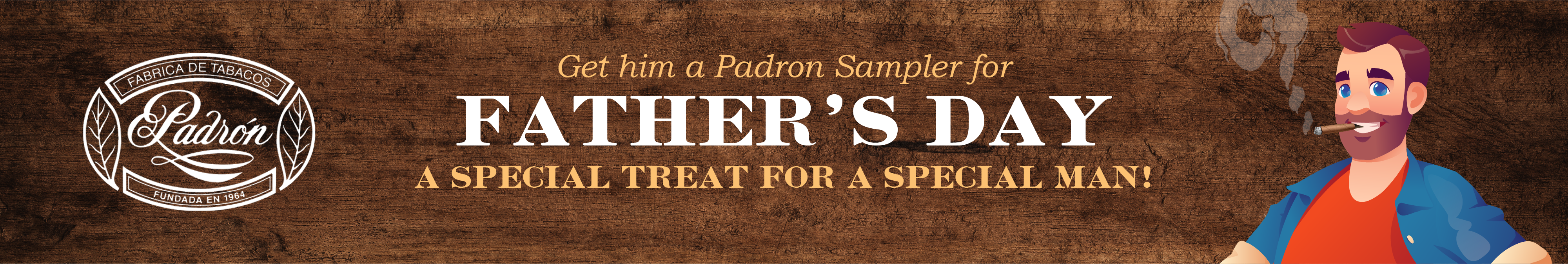 Padron Samplers for Father's Day